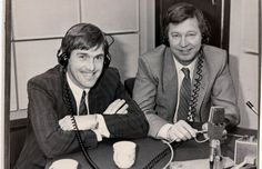 Dalglish (left) and Sir Alex Ferguson take part in a 1986 radio show  Read more: http://www.dailymail.co.uk/sport/football/article-2260310/Manchester-United-v-Liverpool-rivalry-picture-special.html#ixzz454XtwMDU  Follow us: @MailOnline on Twitter | DailyMail on Facebook