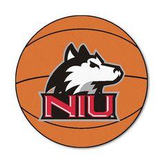 Northern Illinois Huskies NCAA Basketball Round Floor Mat (29)