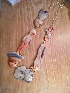 あちゃちゅむ - ムチャチャ doll hospital necklace