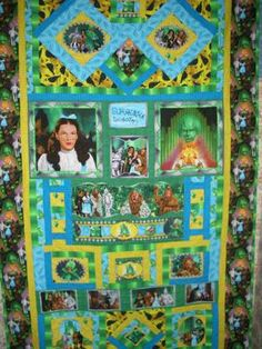 4th in my series of Wizard of OZ quilts: The fourth in my series of quilts using…