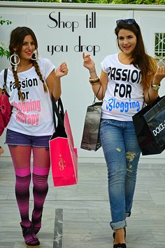 Shop till you Drop, new Passion for xoxoES campaign Shop Till You Drop, Campaign, Passion, Blog, T Shirt, Shopping, Tops, Women, Supreme T Shirt