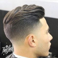 Men's Hair, Haircuts, Fade Haircuts, short, medium, long, buzzed, side part, long top, short sides, hair style, hairstyle, haircut,…