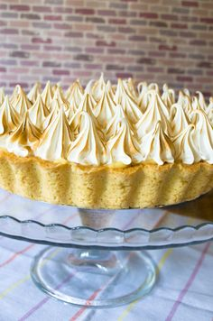 Lemon Pie Receta, Vanilla Cake, Cheesecake, Desserts, Recipes, Food, Cake Recipes, Sweet And Saltines, Food Cakes
