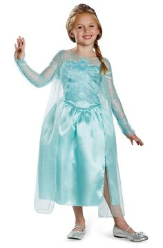 Kids Elsa, Elsa Costumes, DISNEY'S FROZEN CLASSIC ELSA - Imaginations Costume & Dance
