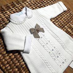 Vestido - Trança - Branco e Rolex com Pérolas e Cristais Swarovski