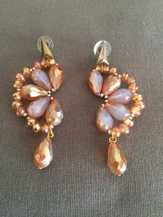 Crystal Deops earrings