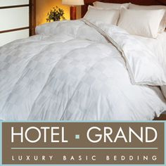 @Overstock - Experience the supreme luxury of down with this oversize Hungarian white goose down comforter.