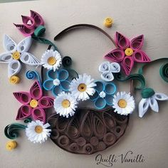 Paper quilling art. Check out our etsy store www.etsy.com/... ♥ ♥