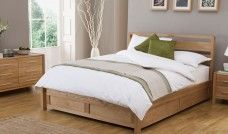 Hip Hop Bedstead 150cm Lift Up Bed Ash