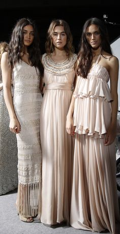 Love these blush pink beauties from Houghton - Barcelona Bridal Week 2015