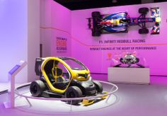 The Renault Sport #Twizy F1 concept car is exhibited at the #Brussels motor show 2014! (c) OMG - Droits réservés #Renault