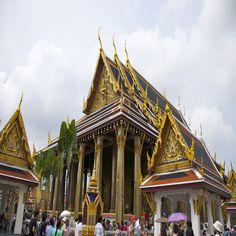 Bangcoc - Templo do Buda Reclinado