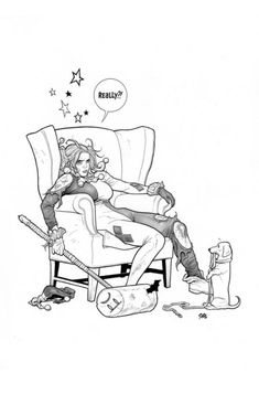 Harley Quinn #44 by Frank Cho