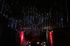 Glasmalerhaus Fest Zürich Concert, Light Installation, Short Throw Projector, Corning Glass, Concerts