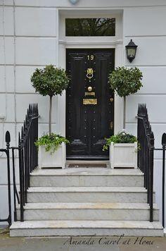 Beautiful London door inside view | London doors | Pinterest