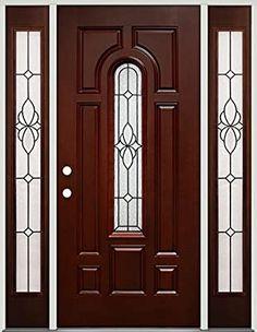 Front Door Hardware, Front Door Entryway, Exterior Front Doors, Front Porch, Home Door Design, Door Design Interior, Rustic Doors, Wooden Doors, Fiberglass Entry Doors