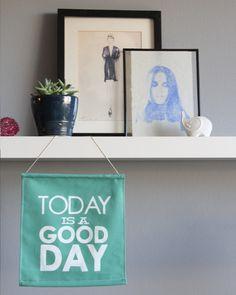 DIY Good Day Sign