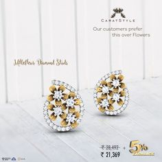 The beginning of a new week should not be dull, Surprise her with these #gold…