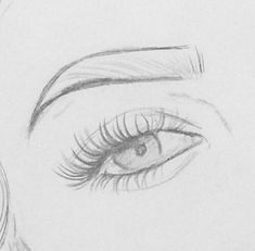 Eye drawing sketches pencil 70 ideas for 2019 Easy Pencil Drawings, Easy Doodles Drawings, Pencil Sketch Drawing, Art Drawings Sketches Simple, Realistic Drawings, Drawing Eyes, Cool Drawings, Easy Eye Drawing, Easy People Drawings
