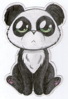 panda drawing pandas drawings easy bear sketch draw bears sketches super animals animal cartoon together pix mermaid discover babies face