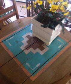 soutwest style painted furniture   Southwest Dining Furniture, Sets, Chairs, China Cabinets Tables