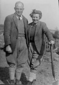 BBC - WW2 People's War - FROM CITY GIRL TO LAND GIRL & FARMER'S WIFE