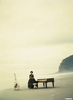 The piano 1993 Director: Jane Campion Holly Hunter, Harvey Keitel, Sam Neill