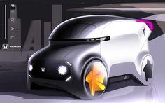 HONDA Shared Car Project on Behance