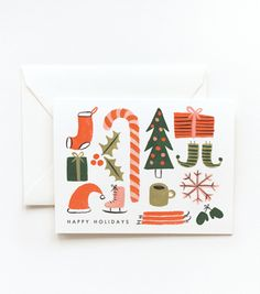 Favorite Things Card / Rifle Paper Co.