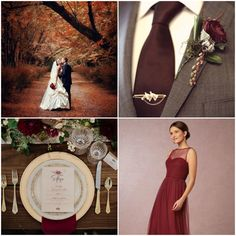 Like Marsala, the Pantone color of the year 2015, burgundy is also named from a kind of wine that native to France. Description from funnyweddingmedia.com. I searched for this on bing.com/images