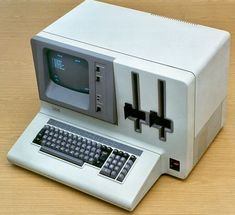 """IBM 5120 system came with 9""""-monitor & two 8"""" disk drives"""