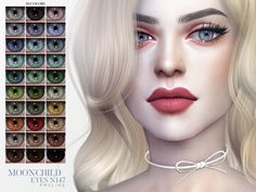 Moonchild Eyes for The Sims 4 - Modern The Sims 4 Skin, The Sims 4 Pc, Sims Four, Sims 4 Cas, Sims Cc, Sims 4 Mods Clothes, Sims 4 Clothing, Maxis, Sims 4 Body Mods
