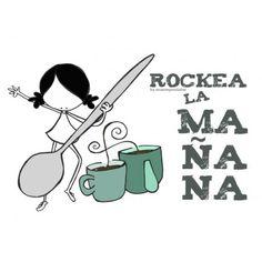 """Lámina """"You rock my day"""""""