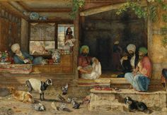 The Kibab Shop, Scutari, Asia Minor, John Frederick Lewis, 1858