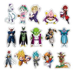 Dbz, Barbie Cartoon, Z Wallpaper, Anime Expo, Dragon Ball Gt, Anime Life, Aesthetic Stickers, Anime Figures, Anime Style