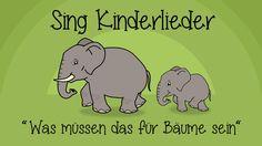 Was müssen das für Bäume sein - Kinderlieder zum Mitsingen | Sing Kinder...