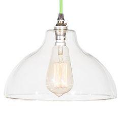 Glass Factory Pendant Light - ceiling lights