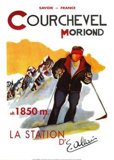 Vintage Ski by SkieninFrankrijk