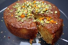 Easy Orange and Polenta Cake