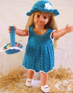 HALF PRICE SALE Easter Ensemble for American by DeeDeesDetails, $44.95