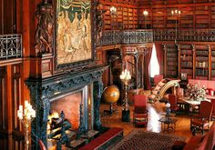 The Library at the Biltmore. A very cool room. We have been here a few times now