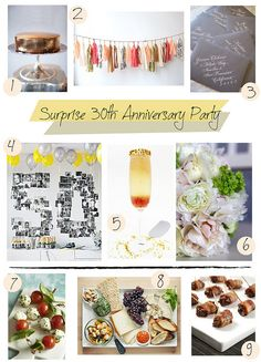 30th anniversary party