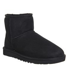 UGG Australia Classic Mini Boots Black - Ankle Boots