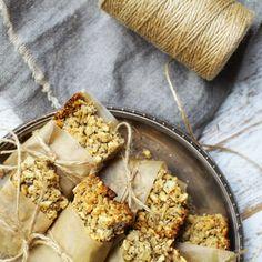 Oat and Puffed Rice Granola Bars