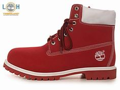 mens red timberland boots - Google Search