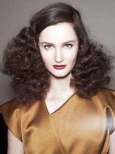The Big, Bad-Ass Hair at Bottega Veneta and Just Cavalli For Spring 2013 - Beautyeditor