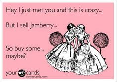 Wear Jamberrys and start a conversation.