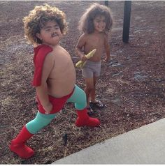 Saw these two walking around today -   Imgur.  Im gonna do this to my kids