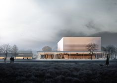 "Gallery of Topotek 1 Architektur Wins 1st Prize With Concert Hall Design in Nuremberg as ""House With Four Fronts"" - 1"