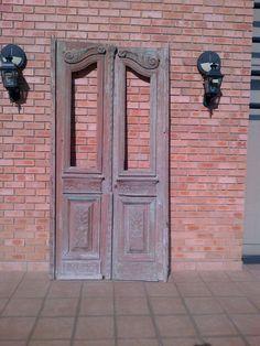 Original, Solid Wood French Door.